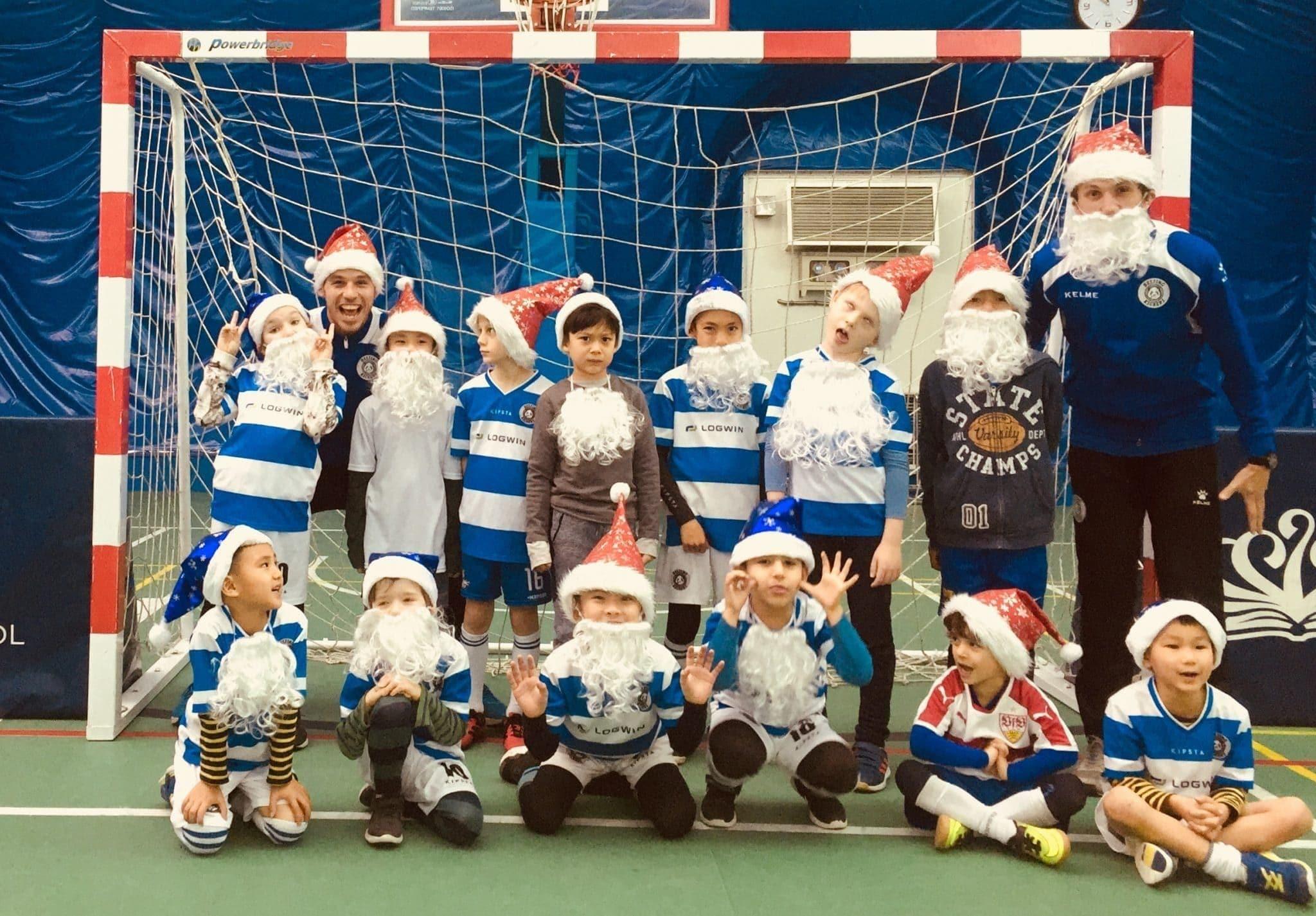 2019 Weihnachts-Fußballcamp